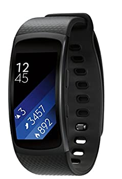 Samsung Gear Fit2 Smartwatch Large, Black 1