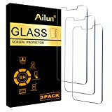 Ailun Glass Screen Protector Compatible for iPhone
