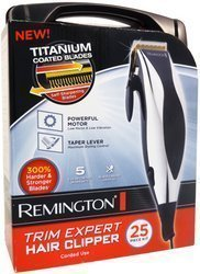WMU - Remington HC-822 25 Piece Trim Expert Hair Clipper Set
