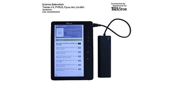 Batería compartimento para Trekstor 4 ink 4 Ink 4.0 Liro Ink Pyrus ...