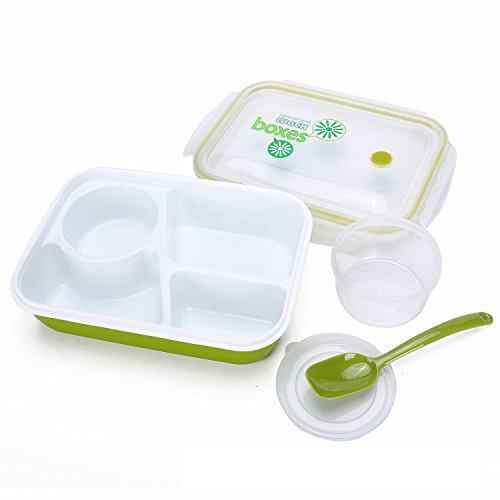 Bento Lunch 3 compartment 1 bowl Spoon product image