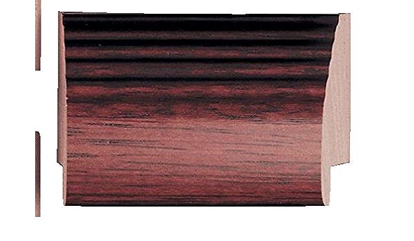 38 rabbet depth Wood 1 width Traditional Silver Finish Picture Frame Moulding 16ft bundle