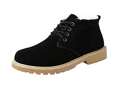 tmates-mens-winter-boots-for-men-suede-lace-up-casual-warm-ankle-snow-boots-with-faux-fur-9-bmusblac