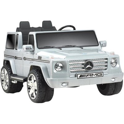 Big-Toys-Npl-0592-Mercedes-Benz-G55-Truck-12v-in-Gray