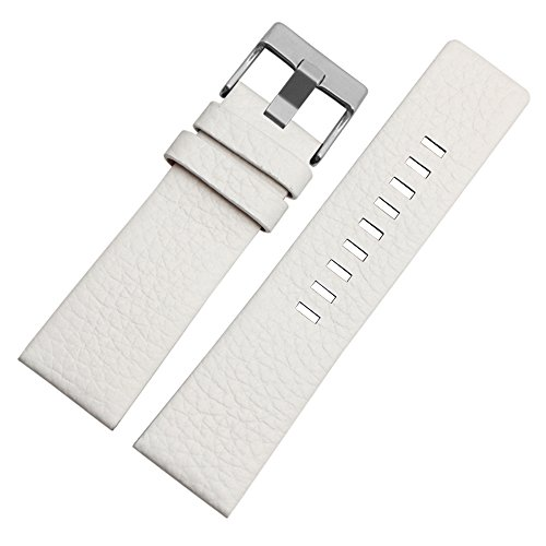 Choco&Man US Calfskin Leather Watch Band Fit for Men's Diesel Watches ()