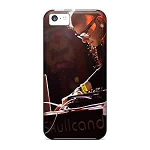 AlissaDubois Iphone 5c Bumper Hard Phone Cases Customized Lifelike Skrillex Bringing It Image [YzX9170VOhA]