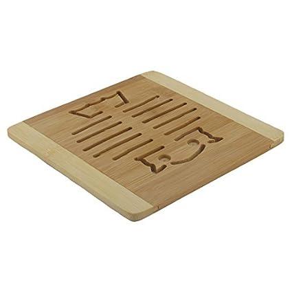 Amazon.com: eDealMax patrón de madera del gato del hogar ...