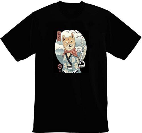 Shiba Inu Samurai Japanese Art T-Shirt