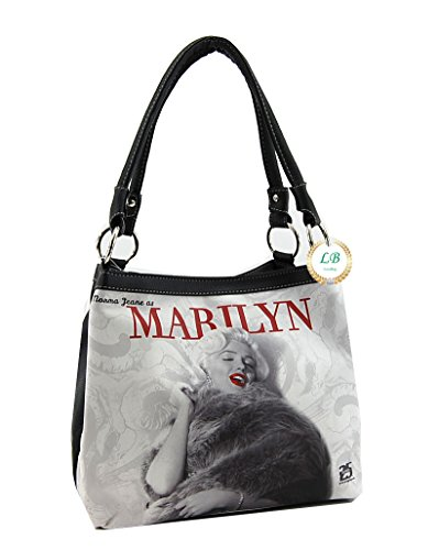 Marilyn Monroe Medium Handbag, Two Way Style Bag