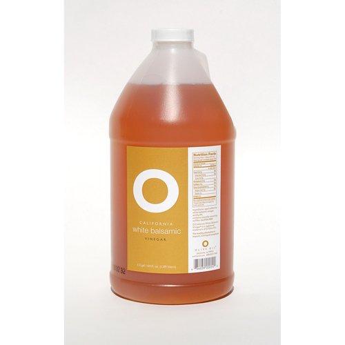 O Olive Oil - California White Balsamic Vinegar - 0.5 gal (Pack of 2)