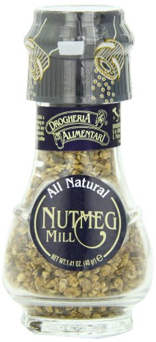 Drogheria & Alimentari All Natural Spice Grinder Nutmeg, 1.41-Ounce Jars (Pack of 3) by Drogheria & Alimentari (Image #2)