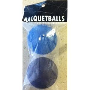 2 Racketball Rubber Balls
