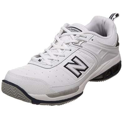 New Balance Men's MC804 Tennis Shoe,White,10.5 D