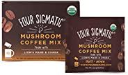Four Sigmatic Mushroom Coffee with Lion's Mane & Chaga For Concentration + Focus, Vegan, Paleo, Gluten Free, 0.09 Ounce (10