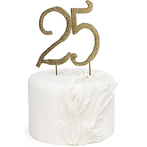 Amazon Cake Toppers Diamond Th Anniversary