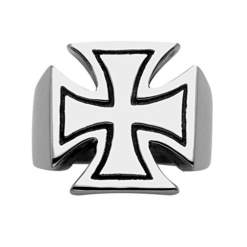 Wildthings Ltd. Sterling Silver Pattee Cross Ring (15)