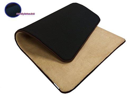 54''x37'' MicroFleece Plush Beige Luxurious Comfort Memory Foam