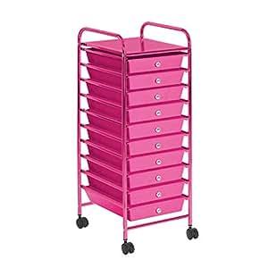 Amazon.com: Urban Shop WK640533 - Carrito de almacenamiento ...
