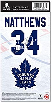 Toronto Maple Leafs Auston Matthews Name & Number Decal Sticker