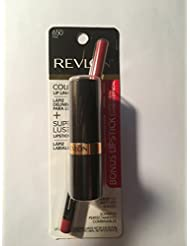 Revlon Colorstay Lipliner Pink With Super lustrous Lipstick Wine with Everything