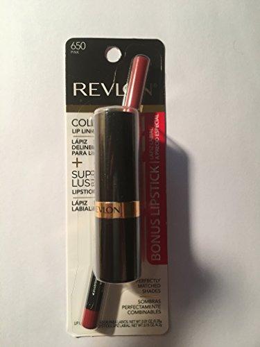 Revlon Colorstay Lipliner Pink With Super lustrous Lipstick