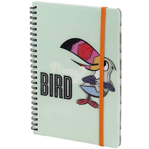 - Kellogg's Froot Loops Wire Bound Pretty Bird Journal featuring Toucan Sam