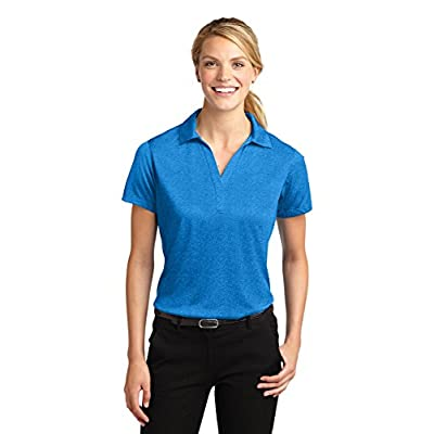 Sport-Tek Women's Heather Contender Polo: Clothing