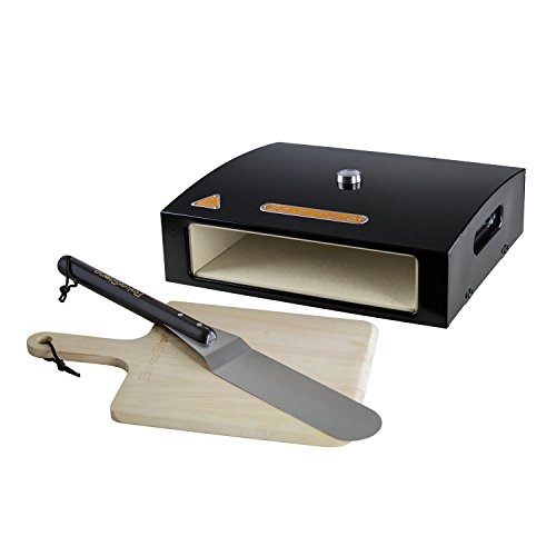 BakerStone Pizza Oven Box with Wood Peel and Turner