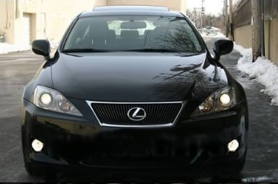 LEXUS IS250 IS350 XENON HALOGEN FOG LIGHTS Driving Lamps Rwd Awd