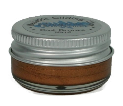 Creative Expressions Metallic Gilding Wax - Cast Bronze
