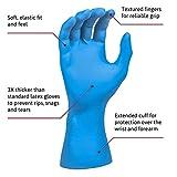 Microflex SG-375-L Safegrip Exam Gloves, PF