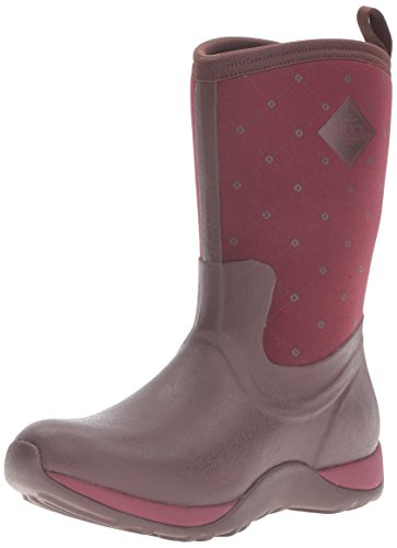 Winter Muck Women's Boots Weekend Cordovan Height Quilt Rubber Boot Mid Arctic gg0Pwqr