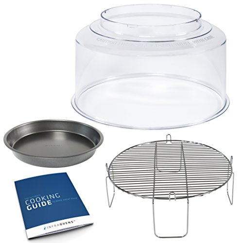 NuWave Oven Dome Replacement for Pro Models - Bundles with 4 inch Rack, 9 inch Pan & Accessories (New Wave Oven Replacement Parts compare prices)