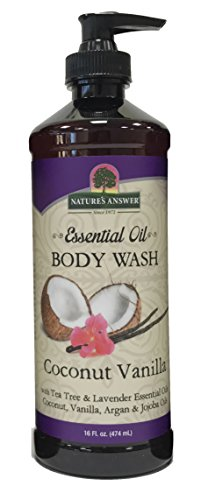 Nature's Answer Essential Oil Body Wash, Coconut Vanilla, ()