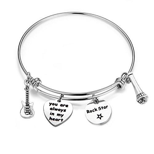 (BNQL Hollywood Legends Rock Star Bracelet Gift for Elvis Fan (Elvis Presley)