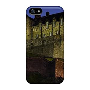 Special Design Back Edinburgh Castle Scotl At Night Phone Cases Covers For Iphone 5/5s