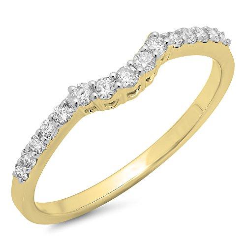 Gold 0.30 Ct Tw Diamond - 8