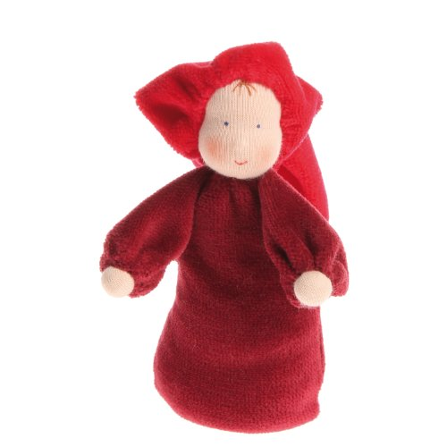 Grimm's Little Lavender Waldorf Doll, Red ()