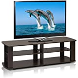 3 Tier 43 in. TV Stand By Home Loft Concepts (Dark Brown)