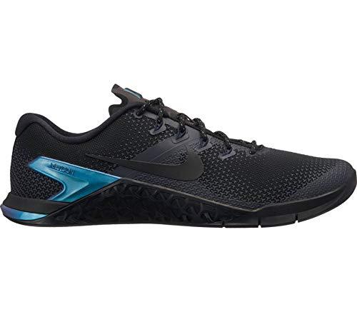 Nike Men's Metcon 4 PRM Cross Training Shoes (12 D US, Black/Black/Dark Obsidian) ()