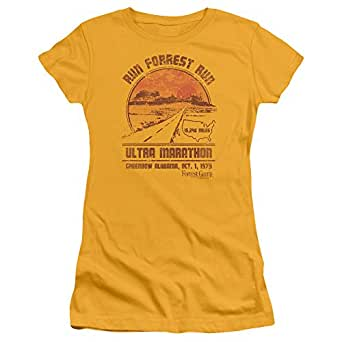Amazon Com Forrest Gump Womens Ultra Marathon T Shirt