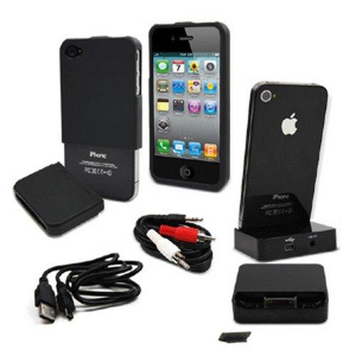 Muvit Essentials Schutzhülle für Apple iPhone 4/4S (3er Pack)