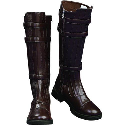 Boots Costume Jedi (Rubie's Costume Men's Star Wars Adult Anakin Skywalker Boots, Brown,)