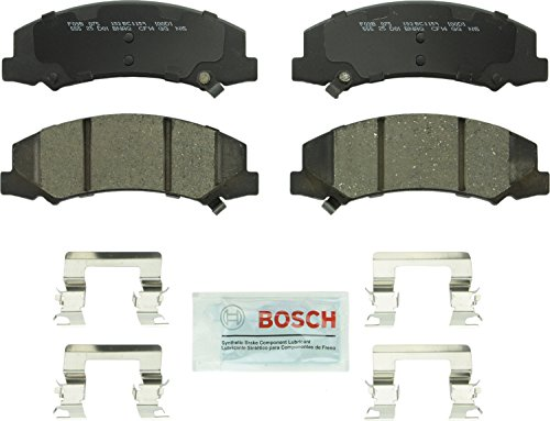 Bosch BC1159 QuietCast Premium Ceramic Front Disc Brake Pad Set