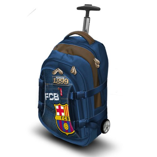 Fc barcelona mochila travel 42 cm jeans: Amazon.es: Zapatos y complementos