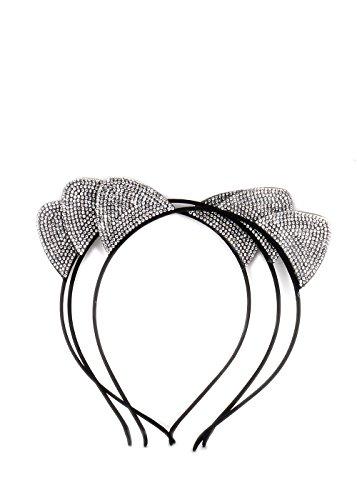 [Essential Women Girl Sexy Cute Hairband Cat Ears Headband (Style B)] (Rosie The Riveter Costume Bandana)