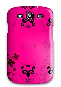 For Galaxy S3 Fashion Design Pink Case-LHXWPVd3959zwdAg