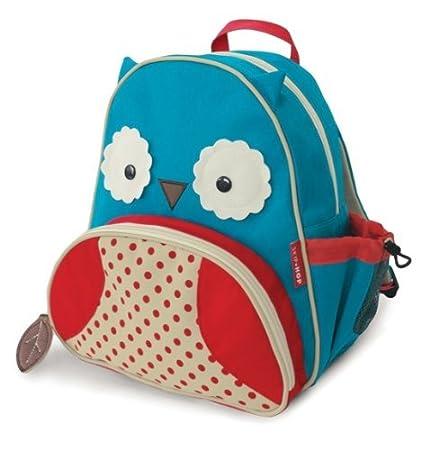 Skip Hop Zoo - Bolsa de almuerzo, mochila con diseño de búho: Amazon.es: Bebé