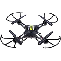Eshion JJRC H8C RC Drone Explorers 2.4G 4CH 6Axis Gyro RC Quadcopter RTF With HD Camera(Black)