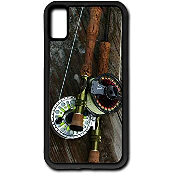Amazon com: iPhone 6s Case Fly Fishing Rod Reel Pole Trout